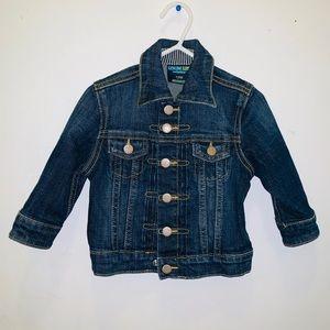 EUC denim Jacket Size 12 Months